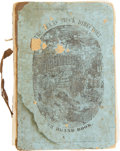 Books:First Editions, W. H. Jackson and S. A. Long. The Texas Stock Directory, or Bookof Marks and Brands. In a Series of Volumes D...