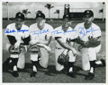Autographs:Photos, 1960's New York Yankees Infield Signed Photograph....