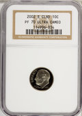 Proof Roosevelt Dimes, 2002-S 10C Clad PR70 Ultra Cameo NGC. PCGS Population (68/0).Numismedia Wsl. Price for NGC/PCGS coin i...