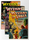 Golden Age (1938-1955):Science Fiction, Mystery in Space Group (DC, 1954-59).... (Total: 4 Comic Books)