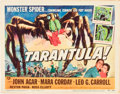 "Movie Posters:Science Fiction, Tarantula (Universal International, 1955). Title Lobby Card andLobby Card (11"" X 14"").. ... (Total: 2 Items)"