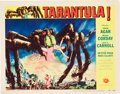 "Movie Posters:Science Fiction, Tarantula (Universal International, 1955). Lobby Cards (2) (11"" X 14"").. ... (Total: 2 Items)"