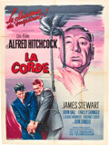 """Movie Posters:Hitchcock, Rope (MGM, R-1950s). French Grande (47"""" X 63"""").. ..."""