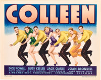 "Colleen (Warner Brothers, 1936). Title Lobby Card (11"" X 14"")"