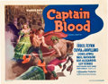"Movie Posters:Adventure, Captain Blood (Warner Brothers, 1935). Title Lobby Card (11"" X14"").. ..."