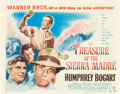 "Movie Posters:Drama, The Treasure of the Sierra Madre (Warner Brothers, 1948). TitleLobby Card (11"" X 14"").. ..."