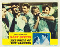 "Movie Posters:Sports, The Pride of the Yankees (RKO, 1942). Lobby Card (11"" X 14"").. ..."