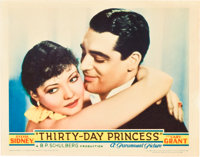 "Thirty Day Princess (Paramount, 1934). Lobby Cards (2) (11"" X 14""). ... (Total: 2 Items)"