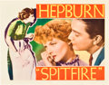 "Movie Posters:Drama, Spitfire (RKO, 1934). Lobby Cards (2) (11"" X 14"").. ... (Total: 2Items)"