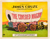 """The Covered Wagon (Paramount, 1923). Title Lobby Card (11"""" X 14"""")"""