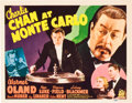 "Movie Posters:Mystery, Charlie Chan at Monte Carlo (20th Century Fox, 1937). Title LobbyCard (11"" X 14"").. ..."