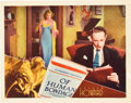 "Movie Posters:Drama, Of Human Bondage (RKO, 1934). Lobby Card (11"" X 14"").. ..."