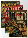 Golden Age (1938-1955):Horror, Miscellaneous Horror Comics Group (Various Publishers, 1947-71)....(Total: 9 Comic Books)
