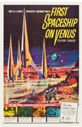"""Movie Posters:Science Fiction, First Spaceship on Venus (Crown International, 1962). One Sheet (27"""" X 41"""").. ..."""