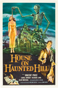 """Movie Posters:Horror, House on Haunted Hill (Allied Artists, 1959). One Sheet (27"""" X 41"""").. ..."""