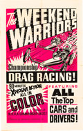 "Movie Posters:Sports, The Weekend Warriors (Champion, 1966). One Sheet (28"" X 44"").. ..."