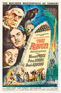 """Movie Posters:Horror, The Raven (American International, 1963). One Sheet (27"""" X 41"""").. ..."""