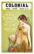 "Movie Posters:Romance, The Dove (United Artists, 1927). Window Card (14"" X 22"").. ..."