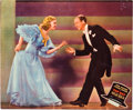 "Movie Posters:Musical, Top Hat (RKO, 1935). Jumbo Lobby Card (14"" X 17"").. ..."