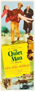 "Movie Posters:Drama, The Quiet Man (Republic, 1952). Insert (14"" X 36"").. ..."