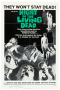 "Movie Posters:Horror, Night of the Living Dead (Continental, 1968). Autographed One Sheet(27"" X 41"").. ..."