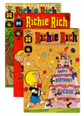 Silver Age (1956-1969):Humor, Richie Rich File Copies Group (Harvey, 1966-70) Condition: Average VF+.... (Total: 16 Comic Books)