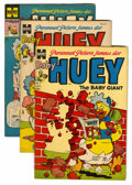 Golden Age (1938-1955):Funny Animal, Baby Huey, the Baby Giant File Copies Group (Harvey, 1954-56)Condition: Average VF.... (Total: 10 Comic Books)