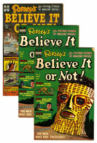 Ripley's Believe It or Not! #1 and 4 File Copies Group (Harvey, 1953-54) Condition: Average FN+.... (Total: 4 Comic Book...