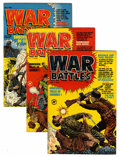 Golden Age (1938-1955):War, War Battles #1-7 and 9 File Copies Group (Harvey, 1952-53)Condition: Average VF.... (Total: 8 Comic Books)
