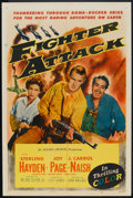 """Movie Posters:War, Fighter Attack (Allied Artists, 1953). One Sheet (27"""" X 41""""). War....."""