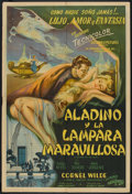 "Movie Posters:Adventure, A Thousand and One Nights (Columbia, 1946). Argentinean Poster (29""X 43""). Adventure.. ..."