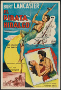 "Movie Posters:Adventure, The Crimson Pirate (Warner Brothers, 1952). Argentinean Poster (29""X 43""). Adventure.. ..."