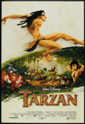 "Movie Posters:Animated, Tarzan (Buena Vista, 1999). One Sheets (2) (27"" X 40"") DS Advance and Regular. Animated.. ... (Total: 2 Items)"