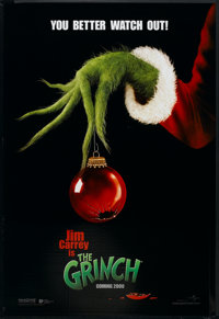 """How the Grinch Stole Christmas (Universal, 2000). One Sheet (27"""" X 40"""") DS Advance. Family"""