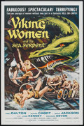 """Movie Posters:Fantasy, Viking Women and the Sea Serpent Lot (American International,1957). One Sheet (27"""" X 41"""") and Lobby Card (11"""" X 14""""). Fanta...(Total: 2 Items)"""