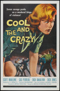 "Movie Posters:Bad Girl, The Cool and the Crazy Lot (American International, 1958). One Sheet (27"" X 41"") and Lobby Cards (3) (11"" X 14""). Bad Girl.... (Total: 4 Items)"