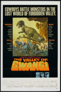 "Movie Posters:Science Fiction, The Valley of Gwangi (Warner Brothers, 1969). One Sheet (27"" X 41""). Science Fiction.. ..."