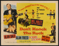 "Movie Posters:Rock and Roll, Don't Knock The Rock (Columbia, 1957). Half Sheet (22"" X 28"") StyleA. Rock and Roll.. ..."