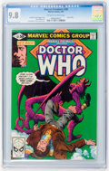 Modern Age (1980-Present):Science Fiction, Marvel Premiere #58 Doctor Who (Marvel, 1981) CGC NM/MT 9.8Off-white to white pages....