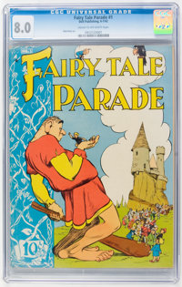 Fairy Tale Parade #1 (Dell, 1942) CGC VF 8.0 Cream to off-white pages