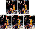Basketball Collectibles:Photos, Kobe Bryant Signed Photographs Lot Of 5.... (Total: 5 items)