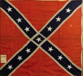 Military & Patriotic:Civil War, Army of Northern Virginia Pattern Confederate Battle Flag, Captured at Macon Arsenal by the 17th Indiana Mounted Infantry and,...