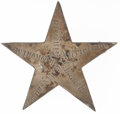 Military & Patriotic:Civil War, Silver Civil War 12th Corps Badge Inscribed with Five Battles....