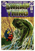 Bronze Age (1970-1979):Horror, Swamp Thing #1 (DC, 1972) Condition: VF+....
