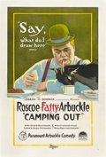 """Movie Posters:Comedy, Camping Out (Paramount, 1919). One Sheet (27"""" X 41"""").. ..."""