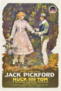 "Movie Posters:Adventure, Huck and Tom (Paramount, 1918). One Sheet (27"" X 41"") Style A.. ..."