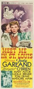 "Movie Posters:Musical, Meet Me in St. Louis (MGM, 1944). Insert (14"" X 36"").. ..."