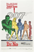 "Movie Posters:James Bond, Dr. No (United Artists, 1962). One Sheet (27"" X 41"").. ..."