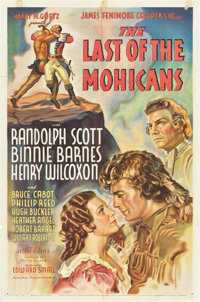 """The Last of the Mohicans (United Artists, 1936). One Sheet (27"""" X 41"""")"""