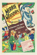 "Movie Posters:Animated, Merrie Melodies (Warner Brothers, 1941-42). Stock One Sheet (27"" X 41"").. ..."